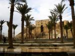 Aleppo city great citadel